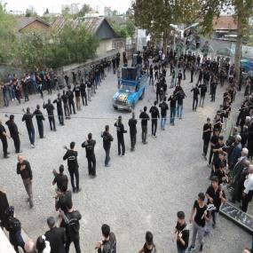 دسته روی روز تاسوعا در شهر دابودشت 95به روایت تصویر 1