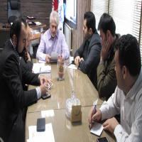 جلسه ستاد نوروزی در شهرداری دابودشت