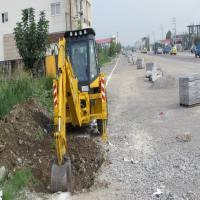 آغاز عملیات اجرایی فاز 2 احداث کانال جمع آوری آبهای سطحی با جدول پیش ساخته در شهر دابودشت