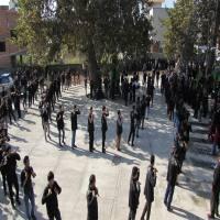 دسته روی روستای بالا  کلیکسر به حسینیه باب الحوایج شهر دابودشت در روز عاشورا