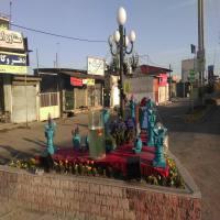 اجرای سفره هفت سین در شهر دابودشت