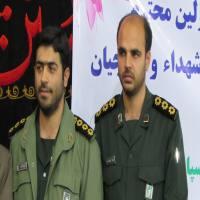 مراسم تودیع و معارفه فرمانده حوزه مقاومت بسیج صفین 05 در مصلی دابودشت