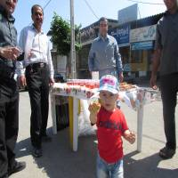 برپایی ایستگاه صلواتی در خیابان دریا و جشن نیمه شعبان ،ولادت امام زمان (عج)  در شهرک سبحان شهر دابودشت