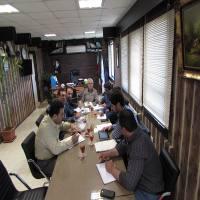 جلسه بررسی برنامه راهبردی و عملیاتی 5 ساله شهر دابودشت در جلسه شورای اسلامی شهر