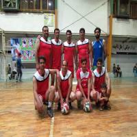 حضور تیم  شهرداری دابودشت در مسابقات والیبال جام رمضان یادواره شهدای مدافع حرم در مجتمع دهقان