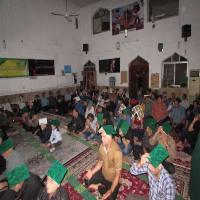 مراسمات شب قدر در مسجد جامع شهر دابودشت