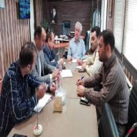 جلسه ستاد مدیریت بحران شهرداری دابودشت