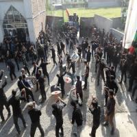 دسته روی روز عاشورا در شهر دابودشت 95به روایت تصویر 2