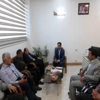 دیدار ابراهیمی سرپرست شهرداری دابودشت و اعضا شورای اسلامی شهر از ساعی بخشدار جدید دابودشت