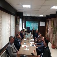 جلسه ساماندهی بیلبورد ها در شهرداری دابودشت