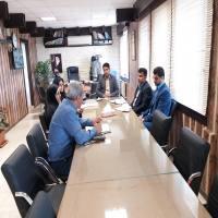 اولین جلسه کمیسیون بند 20 ماده 55 قانون شهرداری ها سال 1397در شهرداری دابودشت برگزار گردید