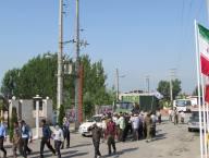 استقبال شهرداری از کاروان پیاده سپاه بابل به حرم امام خمینی(ره)