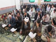 برگزاری مراسم دعای پرفیض عرفه در مصلی شهر دابودشت به روایت تصویر