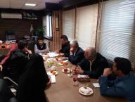 جلسه بررسی مشکلات طرح جامع شهر دابودشت در شهرداری دابودشت