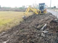 آغاز عملیات اجرای کانال جمع آوری آبهای سطحی خیابان سعدی ضلع شرقی فاز 2