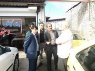 بازدید مهدوی شهردار دابودشت از سطح شهر