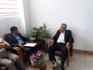 دیدار مهدوی شهردارو اعضا شورای اسلامی شهر دابودشت با نصیری سرپرست جدید بخشداری دابودشت