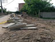 آغاز پروژه جمع آوری آبهای سطحی و احداث کانال کوچه ورزش به همت واحد فنی شهرداری دابودشت