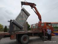 آماده سازی المان شهدای شهر دابودشت توسط شهرداری دابودشت جهت نصب در بلوار خیابان دریای شهر دابودشت