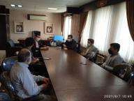 اولین جلسه شورای  اسلامی شهر دابودشت با ریاست مهندس غلام حسن رأفتی و با حضور محمد امین شکری سرپرست شهرداری دابودشت برگزار گردید .