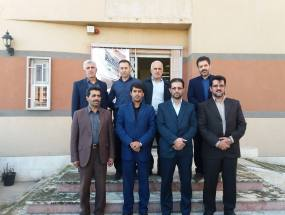بازدید از کتابخانه شهدای شهر دابودشت در هفته کتاب و کتابخوانی