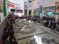 برگزاری همایش بزرگداشت حماسه 9 دی در مصلی شهر دابودشت