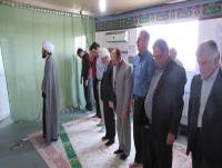برگزاری نماز جماعت در نمازخانه شهرداری دابودشت