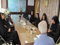 تجلیل از کارکنان زن شهرداری به مناسبت میلاد حضرت فاطمه(س)و روز زن