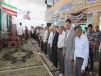 برگزاری نماز عید سعید قربان در مصلی دابودشت به روایت تصویر