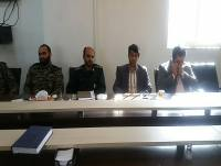 حضور مهدوی شهردار دابودشت در جلسه هفته بسیج در بخشداری دابودشت