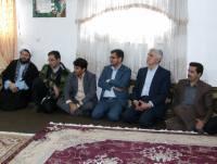 حضور امام جمعه و مسئولین شهر دابودشت  در حوزه بسیج خواهران  سیده طاهره هاشمی دابودشت به مناسبت هفته بسیج