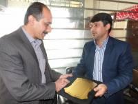 دیدار مهدوی شهردار دابودشت با هیئت مدیره شرکت تعاونی آمل سیر دابودشت به مناسبت هفته حمل و نقل،رانندگان و راهداری