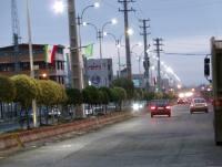نصب چراغ روشنایی خیابان دریا شهر دابودشت