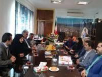 دیدار مهدوی شهردار و اعضا شورای اسلامی شهر دابودشت  با مهدوی شهردار زیراب