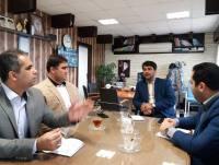 بازدید کارشناسان دفتر امور شهری استانداری مازندران از شهرداری دابودشت