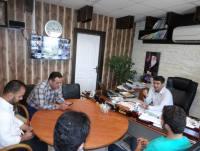 ملاقات عمومی مهدوی شهردار دابودشت سه شنبه 1397/04/12