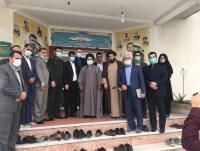 دیدار مهدوی شهردار و مسئولین شهر دابودشت با فرماندهی حوزه مقاومت بسیج صفین به مناسبت روز پاسدار