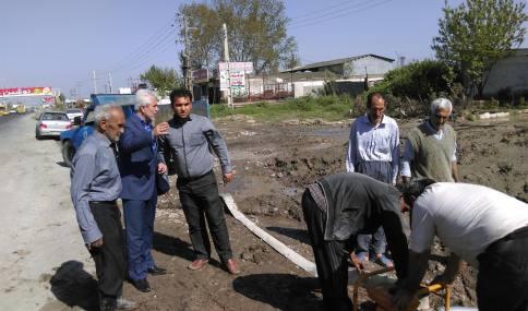قاسمی شهردار دابودشت در حمایت ازکشاورزان روستای چاره بخش دابودشت