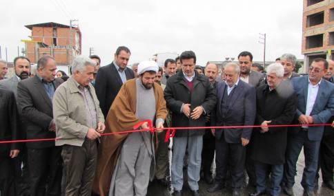 افتتاح 5 پروژه عمران شهری با عتباری بالغ بر 30 میلیارد ریال در شهر دابودشت