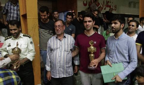 کسب مقام سومی تیم والیبال شهرداری دابودشت در مسابقات جام رمضان یادواره  شهدای مدافع حرم مجتمع دهقان