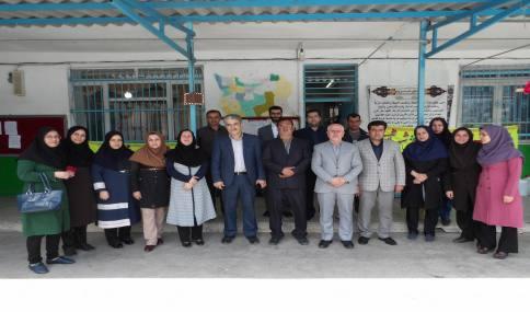 دیدار با مدیران و معلمان مدرسه شهید فاضلی شهر دابودشت