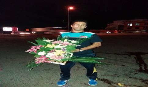 استقبال مردم شریف شهر دابودشت از مربی قهرمان مصطفی رزاقی