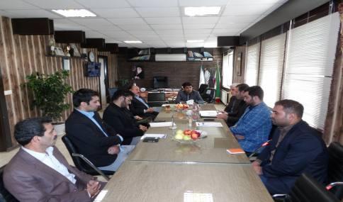 جلسه هم اندیشی در خصوص پسماند شهری (تفکیک زباله )در شهرداری دابودشت