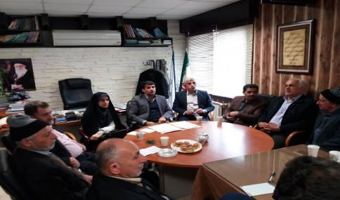 جلسه هم اندیشی شهردار با شهروندان و معتمدین شهر دابودشت