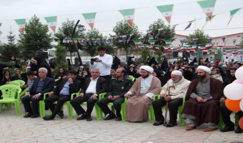 جشن عفاف و حجاب در پارک شهر دابودشت