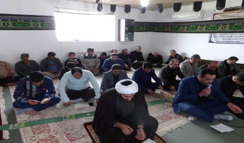 برگزاری مراسم شهادت ابا عبدالله الحسین ( ع) در شهرداری دابودشت