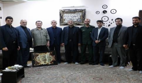 دیدار با صدیقی و وسطی رزمندگان دفاع مقدس  شهر دابودشت به مناسبت هفته دفاع مقدس