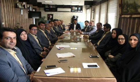 جلسه شورای اداری کارکنان شهرداری دابودشت برگزار گردید .