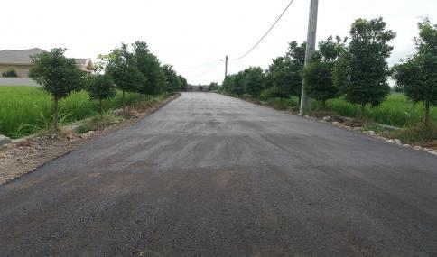 زیرسازی و آسفالت 6000 مترمربع از معابر و کوچه های شهر دابودشت