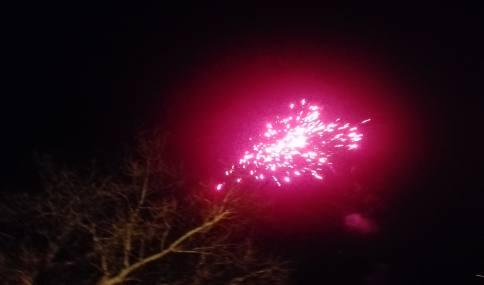 مراسم نور افشانی به مناسبت گرامیداشت شب 22 بهمن در شهر دابودشت